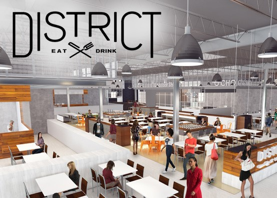 The District is Now Open