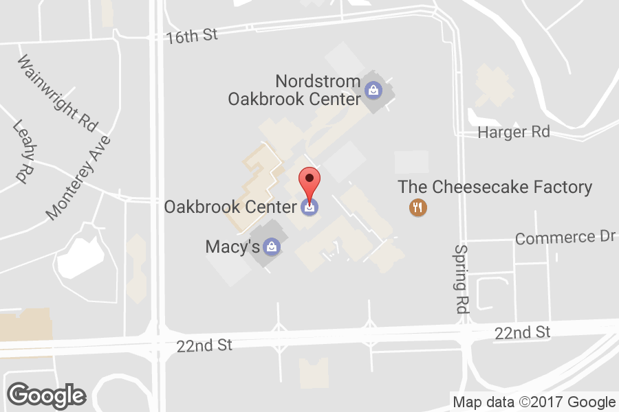 Map of Oakbrook Center - Click to view in Google Maps